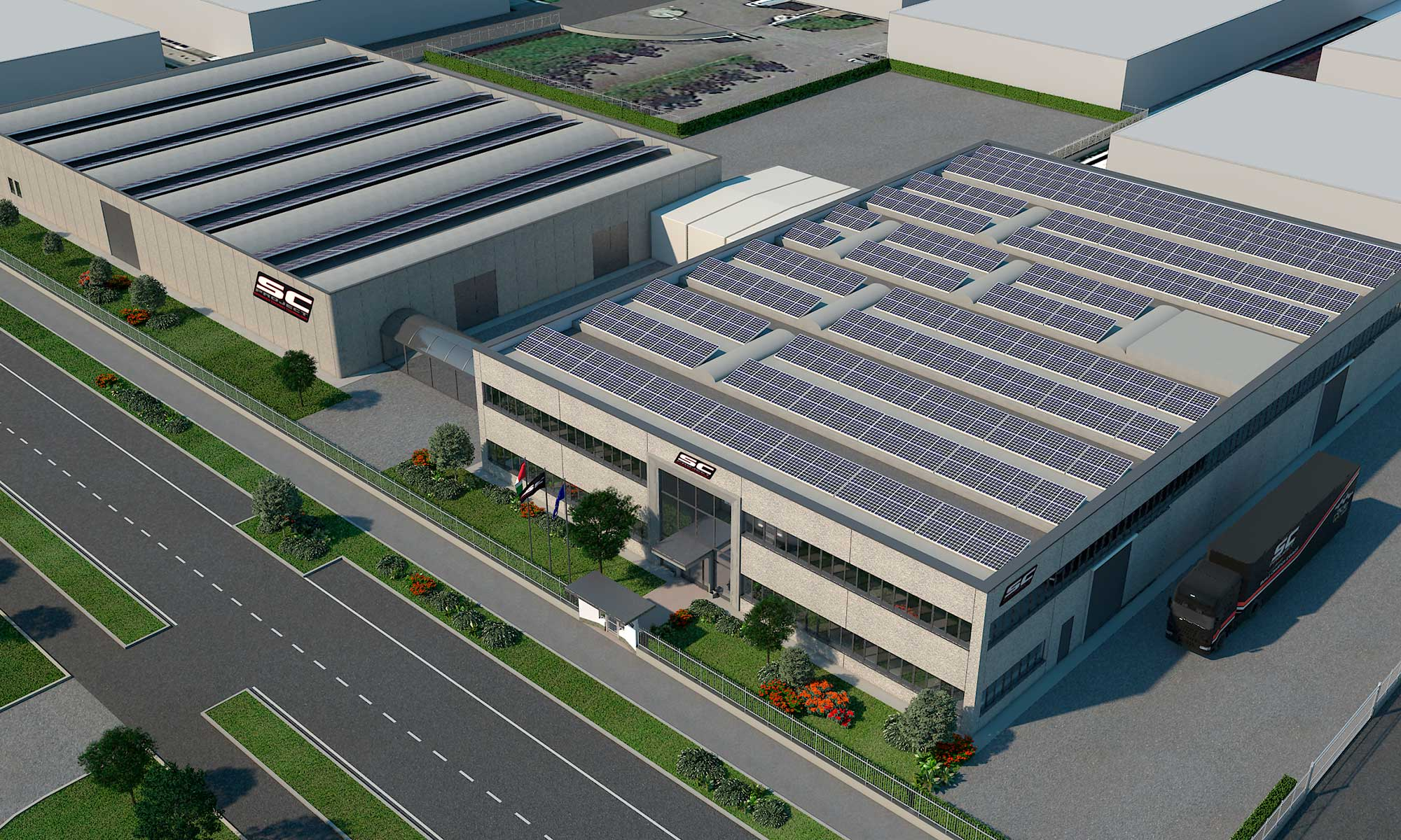sc-project factory complex render