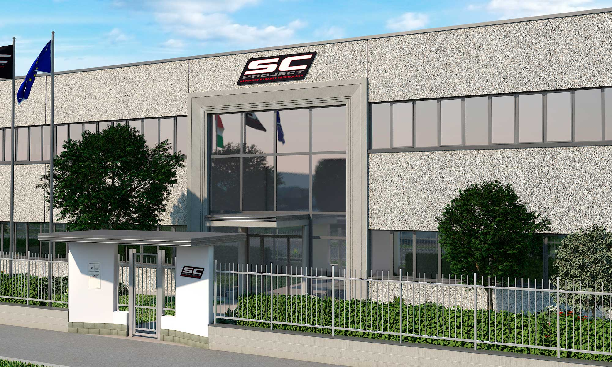 sc-project factory entrace render